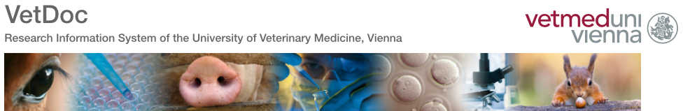 Diagrammed Link to Homepage University of Veterinary Medicine, Vienna